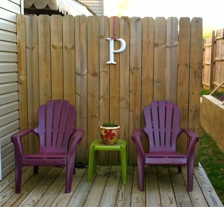 17 best images about spray painting chairs on pinterest lowes spray paint for plastic and diy Painting plastic garden furniture