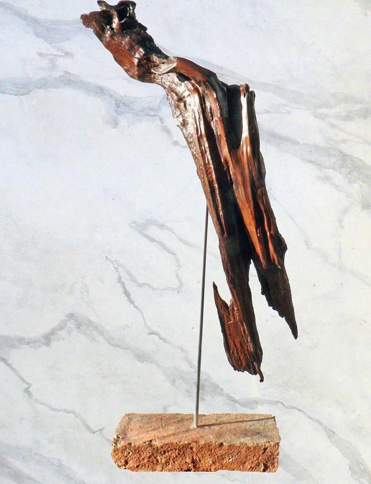 147 best sculpture bois flott images on pinterest bon for Travailler le bois flotte