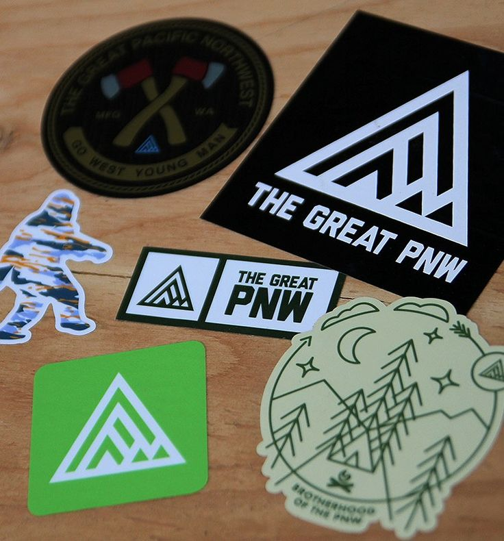 Image of pnw sticker pack