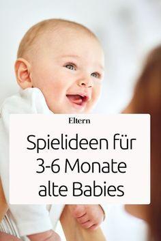 Beschäftigungsideen für Dein 3-6 Monate altes Baby