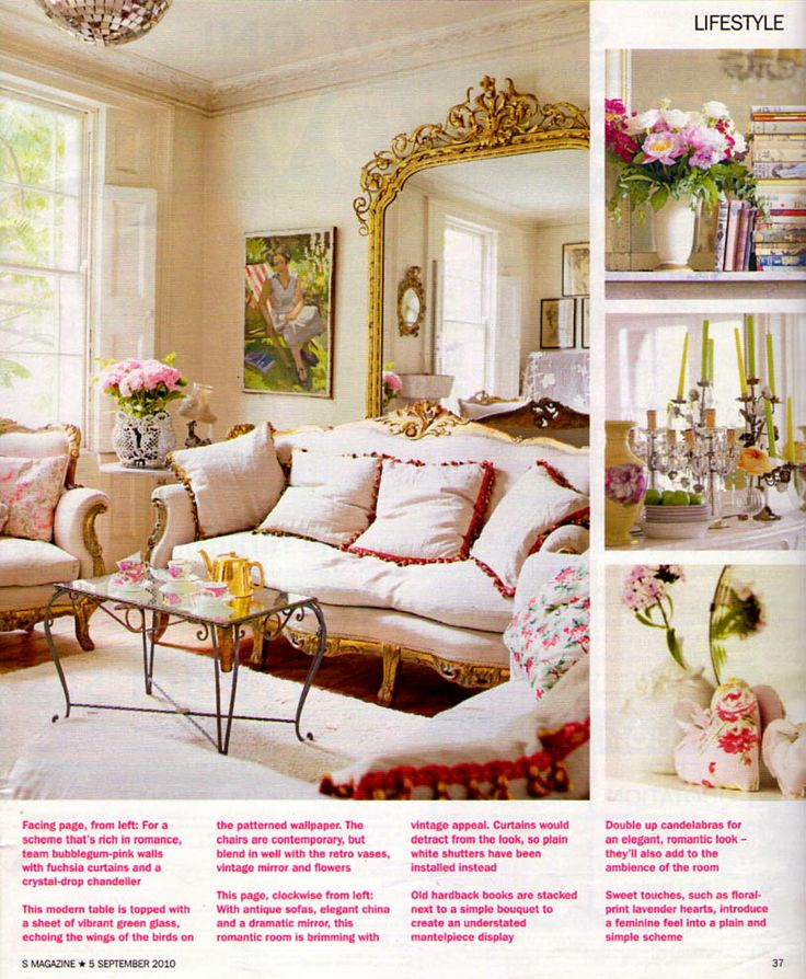 68 Best Images About Romantic Living Rooms On Pinterest Louis Xvi Romantic Room And Shabby Chic