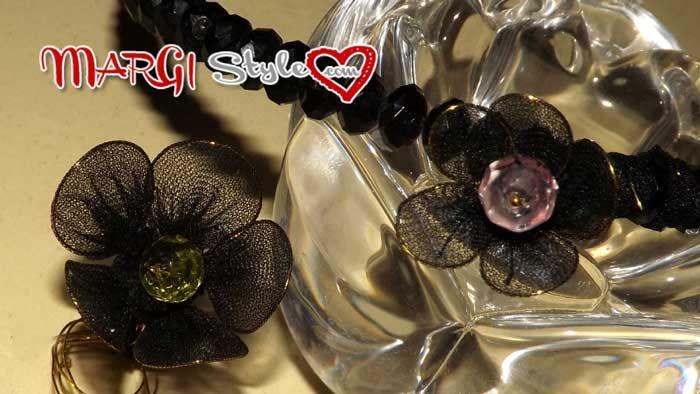 Fare fiori con calze di nylon è un modo semplice ed utile per riciclare delle calze e ottenere un originale prodotto utile per arricchire cerchietti e altro
