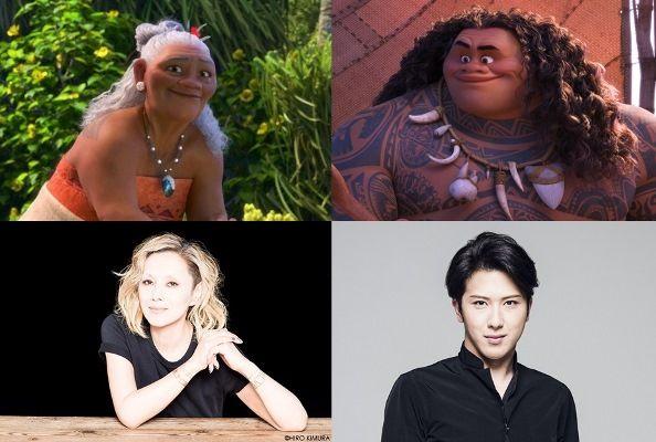 ディズニー映画最新作モアナと伝説の海日本版声優が発表