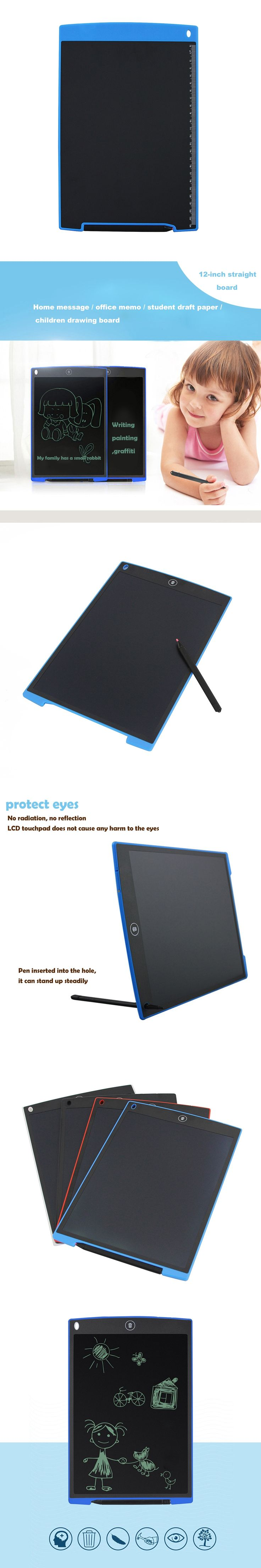LCD Handwriting Tablet Pads LCD Writing Tablet Digital Drawing Board Digital Electronic Tablet Board Included Button Cell