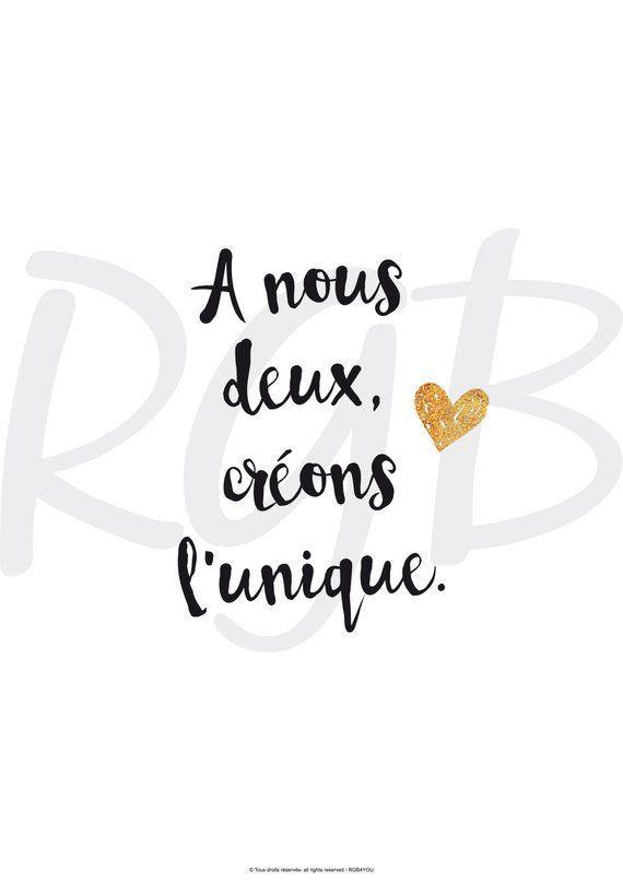 Valentines Day Quotes Affiche Papier Avec Texte De