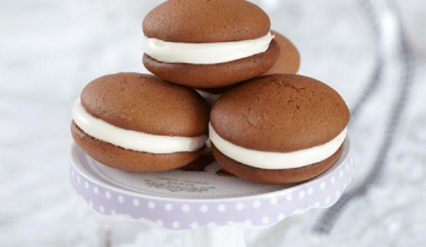 Μπισκότα Σοκολάτας Γεμιστά με Κρέμα, από το  Βιτάμ!