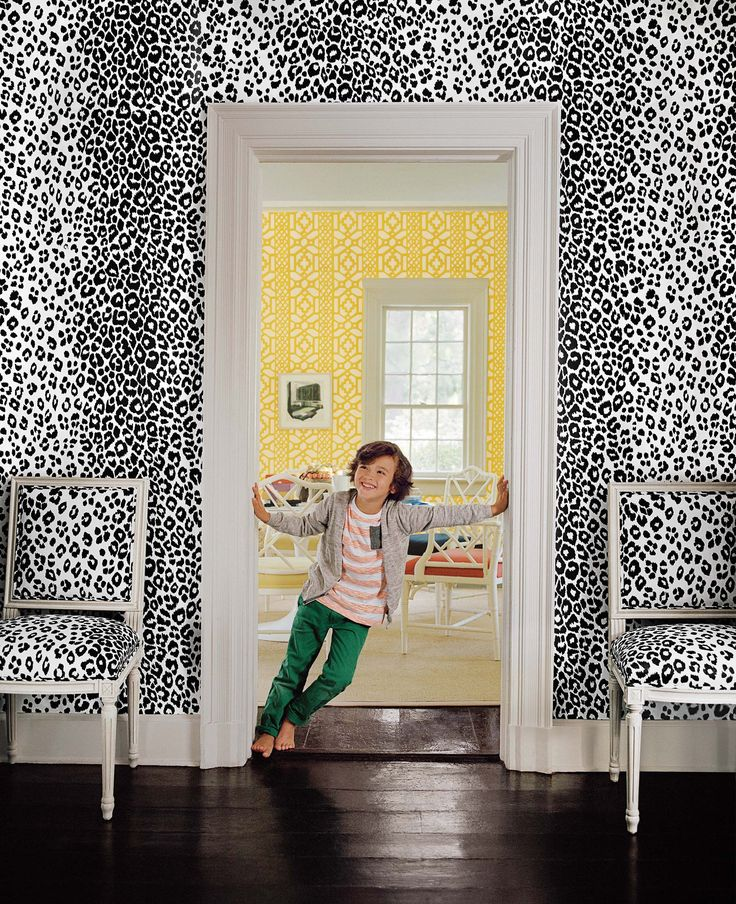 125th Anniversary Collection | Schumacher | Iconic Leopard and Zanzibar Trellis | Photography: Francois Halard