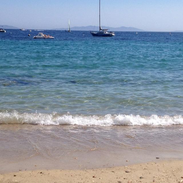 Beaches of Le lavandou, Cavalaire