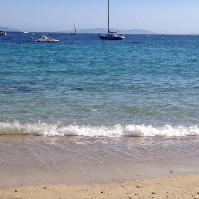 Beaches of Le lavandou, Cavalaire