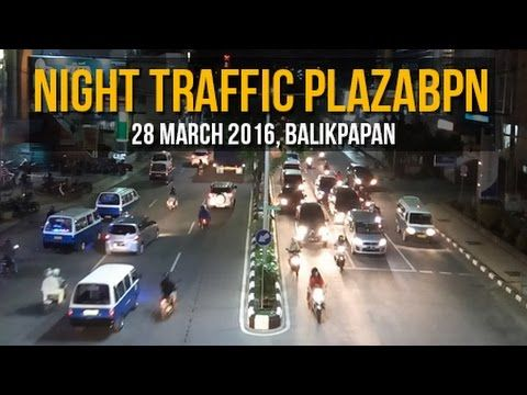 Night Traffic @ Plaza Balikpapan