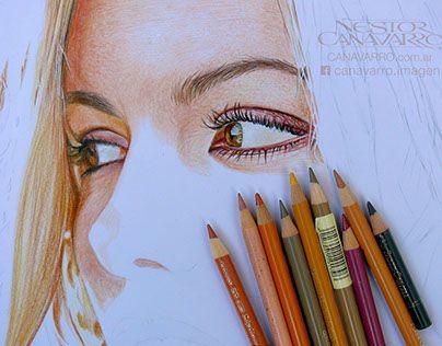 Kate Beckinsale - Process