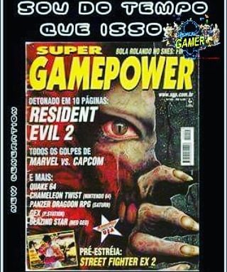 Sou do tempo que isso era meu YouTube... #revistagamer #revistagamers #gamer #gamers #revistagadget #videojogos #nintendo #playstation #gaming #revistagamerson #retro #videogames #videojuegos #games #jogos #ps4 #nostalgia #oldgamer #game #retrogamer #xboxone #residentevil #revista #revistagamera #supergamepower #gadget #xbox #revistadegames #gaminghardware #2 @bruceleetags