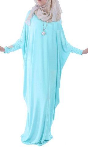 Winter Abaya Maxi Dress -Royal Blue – Rashida Amin - Islamic Clothing, Abaya, Jilbabs, Hijabs