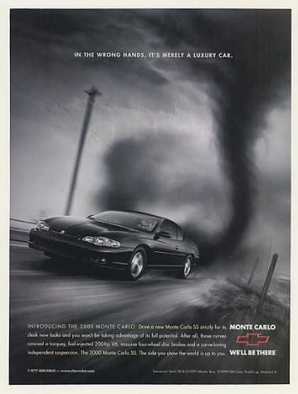 Chevy Monte Carlo Taz Tasmanian Devil Tornado (2000 ...
