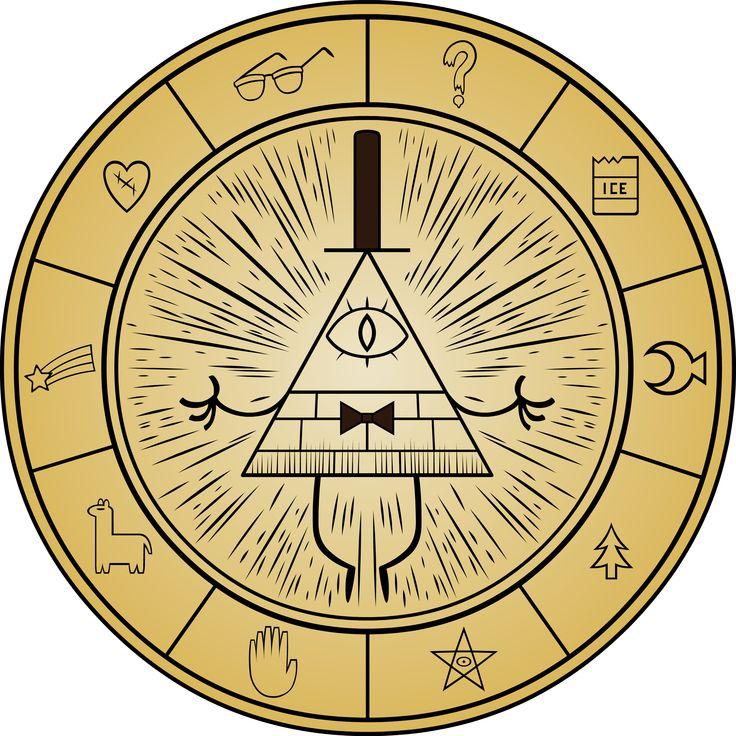 gravity falls birthday | Gravity Falls - Bill Cipher Wheel by Doctor-G