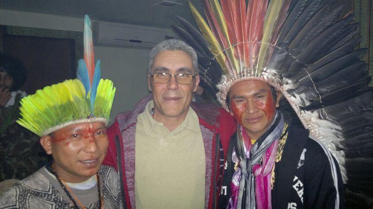 amigos da floresta - Huni Kuin e Yawanawá