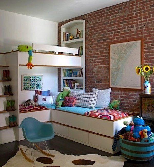Die besten 25+ Vintage etagenbetten Ideen auf Pinterest - hochbett fur schlafzimmer kinderzimmer