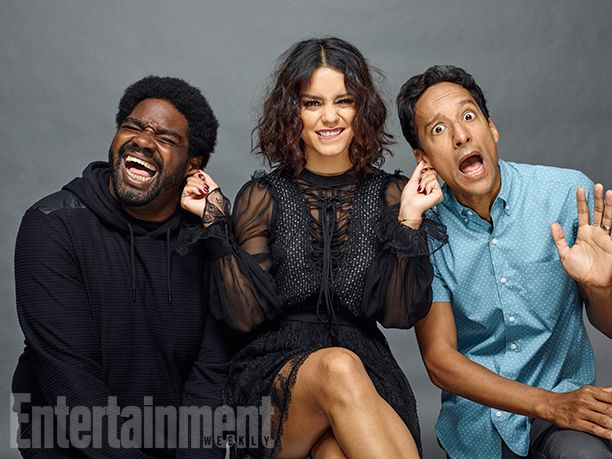 Comic-Con 2016 Star Portraits: Day 2 | Ron Funches, Vanessa Hudgens, and Danny Pudi, 'Powerless' | EW.com
