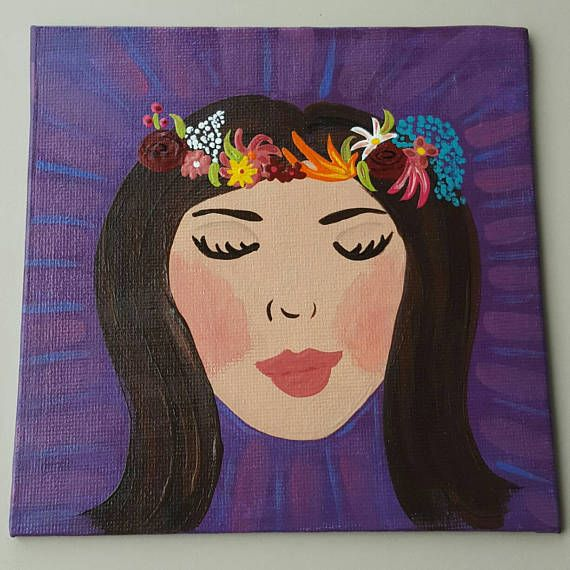 Check out this item in my Etsy shop https://www.etsy.com/ca/listing/518549724/dreamer-artwoman-artmujer-artfloral-head
