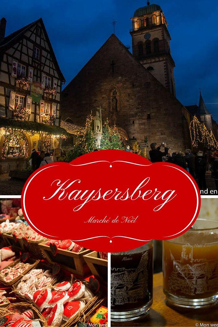 Marché de Noël de Kaysersberg en Alsace