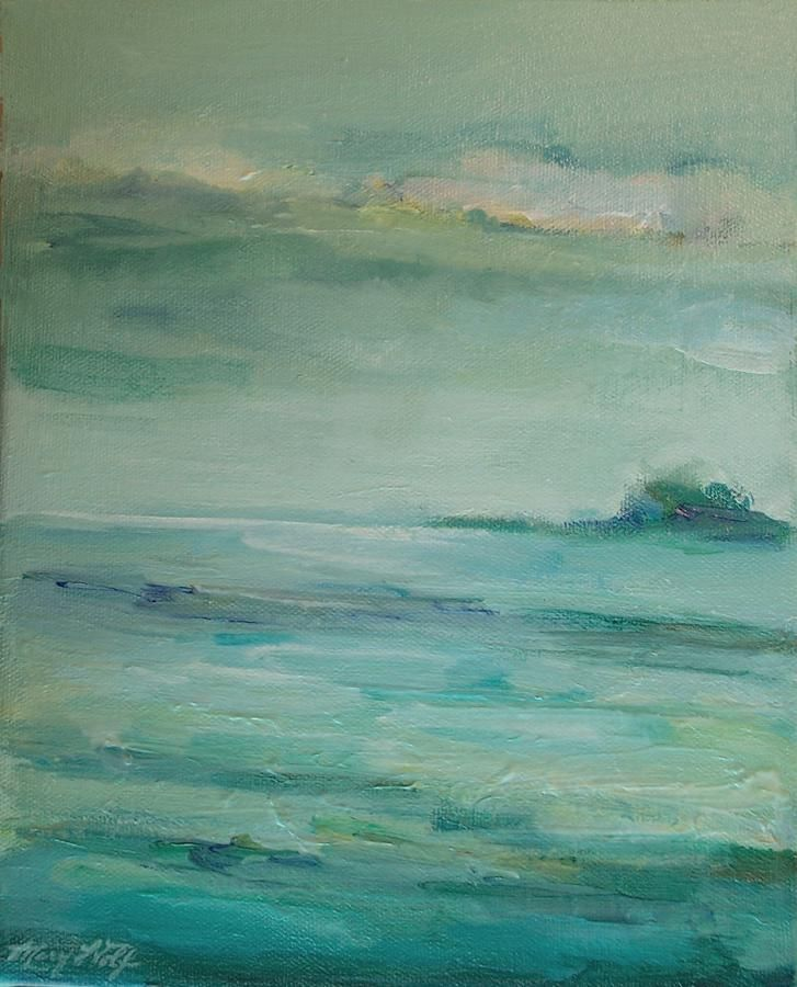 Sea Glass Painting by Mary Wolf - Sea Glass Fine Art Prints and Posters for Sale
