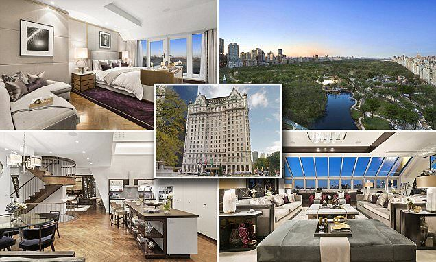 Brit tycoon slashes Plaza Hotel penthouse price by $20m