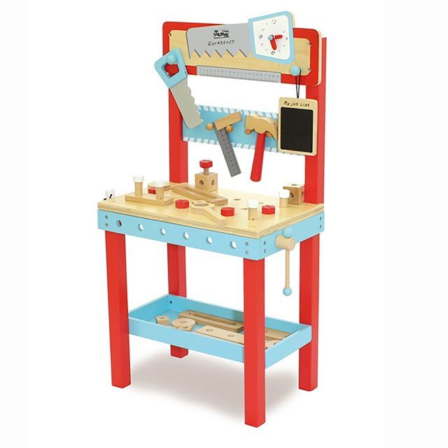 Bang bang twist and screw Keep little fingers busy and active minds creating with this little carpenters bench. Better to bang away at this than at your new coffee table!  http://ift.tt/1t2cZNf  . . .  #lucaslovescars #diy #kidstoys #woodentoys #roleplay #learningthroughplay #playmatters #playroom #boystoys #garage #childhoodmemories#childhoodunplugged#childhood #playandlearn#toddlerplay#toddleractivities#toddleractivity #toysforboys #dad #mum #dadlife #mumslife