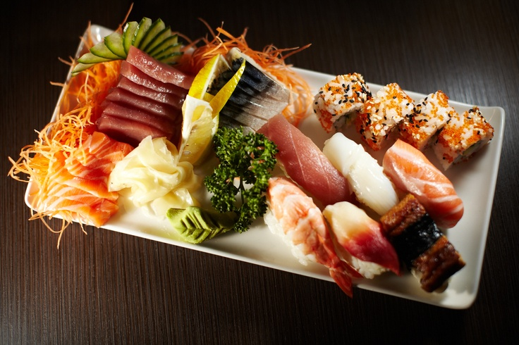 You've got to love a bit of Sushi, especially when it looks this good. At Wasabi Teppanyaki