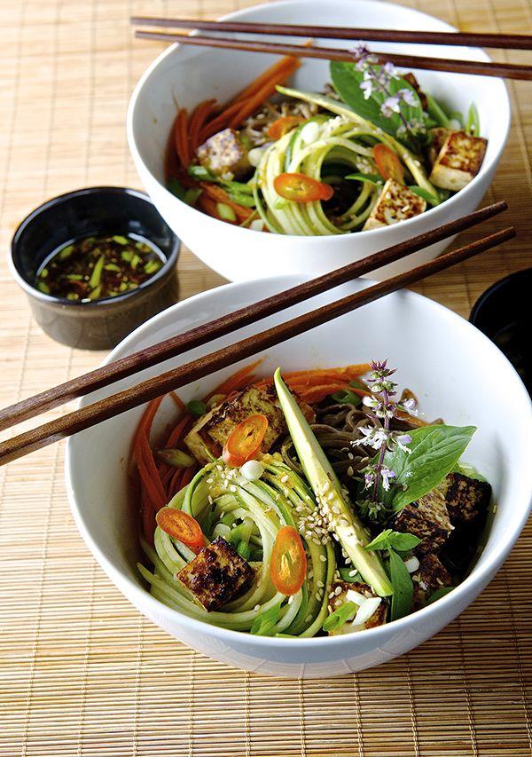 Summer Soba Noodles