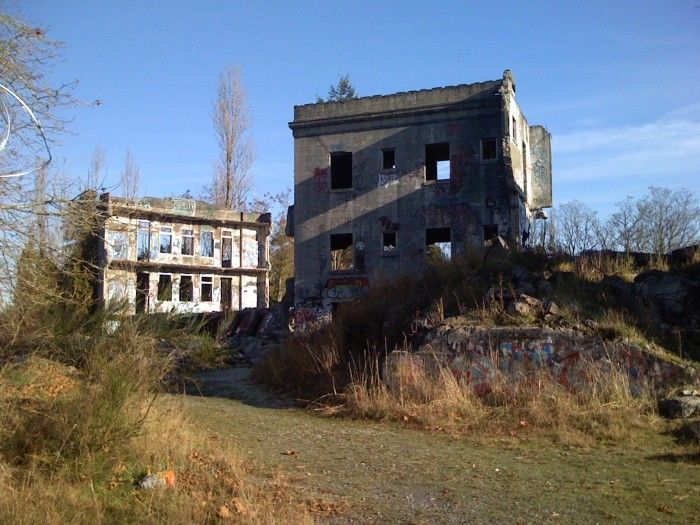 The Scariest Places To Visit In Washington (pictured- Western State Hospital Ruins, no longer standing)