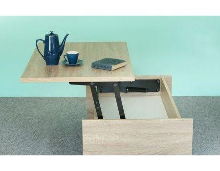 NOVINKA - rozkládací konferenční stolek + psací stůl 2v1