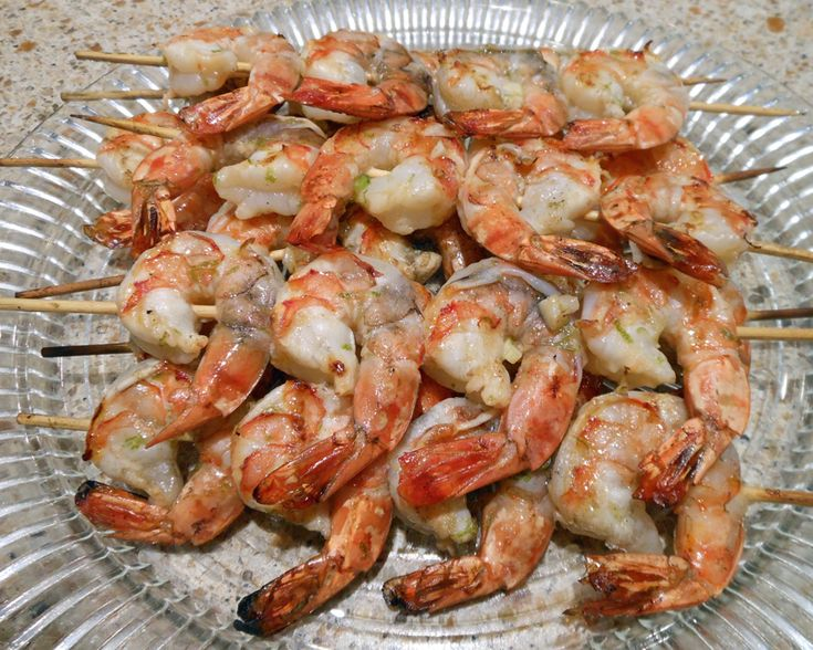 Grilled Shrimp with Jalapeno Vinaigrette | Fish and Seafood | Pintere ...
