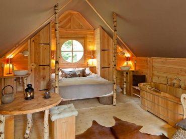 Les 25 meilleures id es de la cat gorie chambres luxueuses for Cabanes de jardin belgique