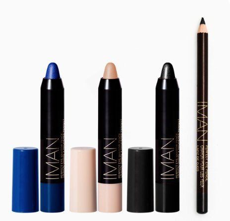 """IMAN Africa on Twitter: """"Create a smokey eye w/ Perfect Eyeshadow Pencil in Mystery Intrigue or Forbidden. Finish off w/ Eye Pencil in Black Shimmer for a winged eye https://t.co/Z3P6YXq0ih"""""""