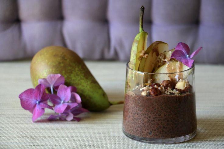 Pudding de Graines de Chia, Tout Chocolat ! #recette #végétal #vegan @ Le Canard Ivre