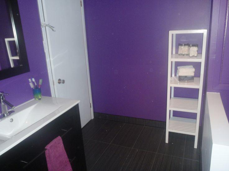 Les 25 meilleures id es de la cat gorie salle de bain for Salle de bain mauve et blanc