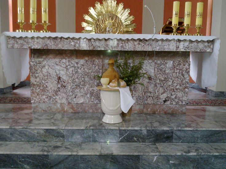 Post 2017 - Wielki Czwartek dekoracja ołtarza