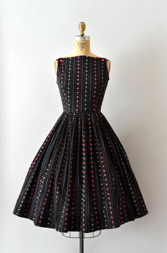 RESERVED LISTING 1950s Vintage Dress by Sweetbeefinds on Etsy