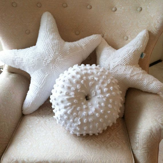 Recycled sea urchin pillow