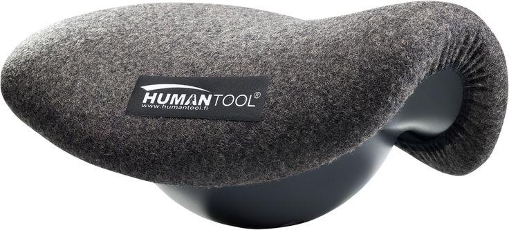 Humantool – satula. Keinuva satula asetetaan normaalin tuolin päälle. #habitare2014 #design #sisustus #messut #helsinki #messukeskus