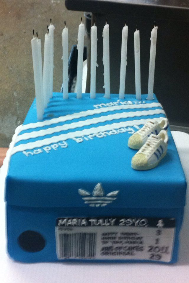 My friend and fellow design classmate Maria Tully  is THE biggest Adidas shoehead I know. She even works at the Adidas Outlet Store in San D...