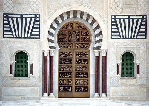 TunisiaBuildings Facades, Doors Design, Mausoleum Doors, Colors Photography, Monastir, Windows, Architecture, Africa, Donna Corless