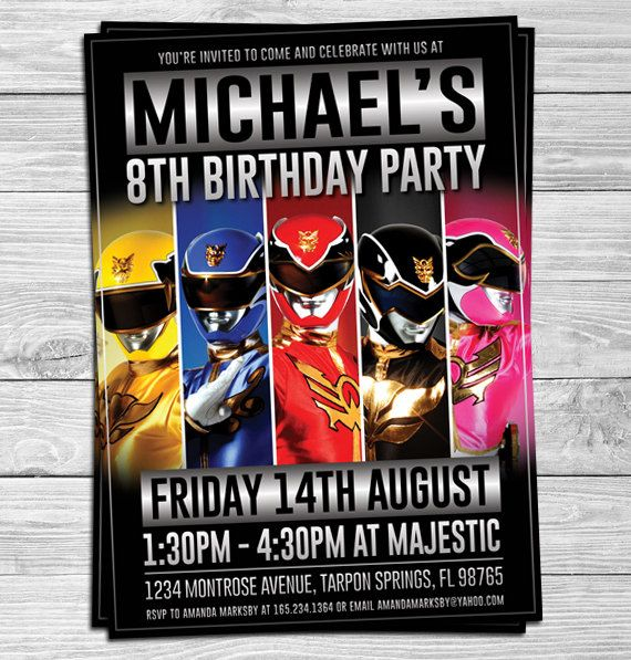 19 best Kids Birthday Invitations images – Online Kids Party Invitations