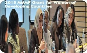 2015 MMMF Grant for Women of Developing Countries in South Africa, and applications are submitted till August 31, 2014. Margaret McNamara Memorial Fund is offering grant for women of developing countries in South Africa. - See more at: http://www.scholarshipsbar.com/2015-mmmf-grant-for-women-of-developing-countries.html#sthash.eMPXrL8I.dpuf