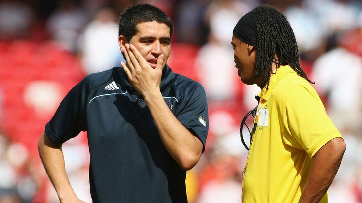 Riquelme et Ronaldinho  Argentine et Brésil #Technicien #Latino #Adidas #Nike #9ine @Riquelme