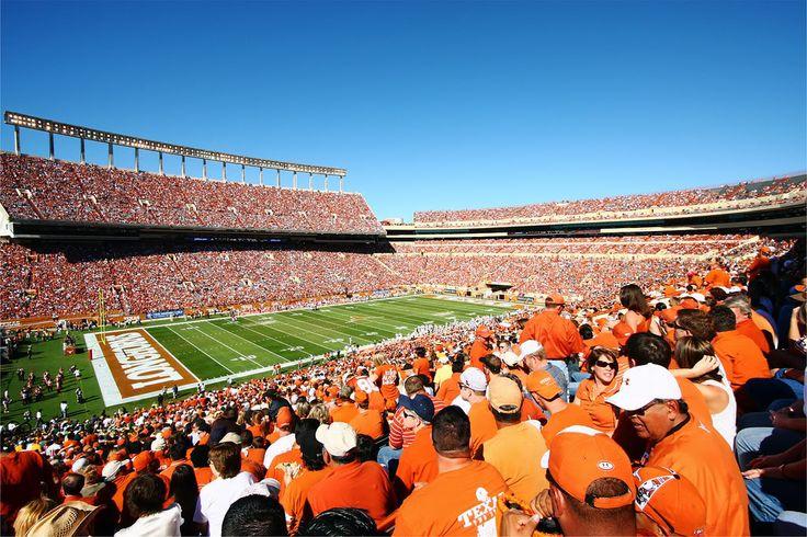 DKR Texas Memorial Stadium - UT Football game.