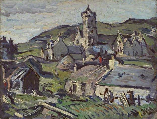 Landscape, Barra - Samuel John Peploe