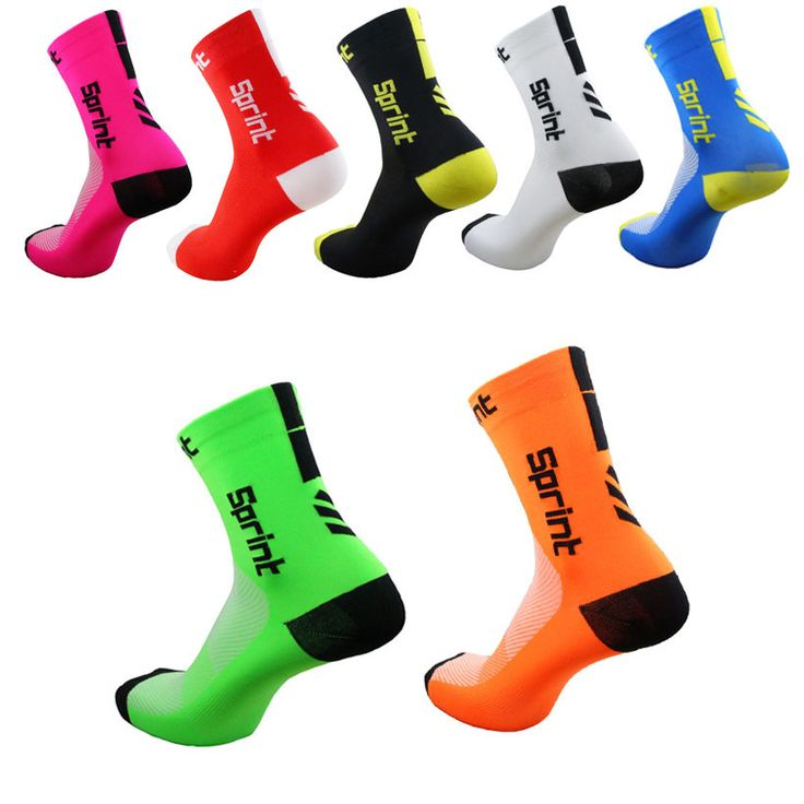 Cycling Socks Men Women Anti-sweat Outdoor Sports Running Basketball Sport Socks Bicycle Bike Socks Calcetines Ciclismo #Affiliate