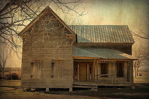 Tattnall County GA Hughland Community Vernacular Architecture Folk Victorian Farmhouse Tin Roof