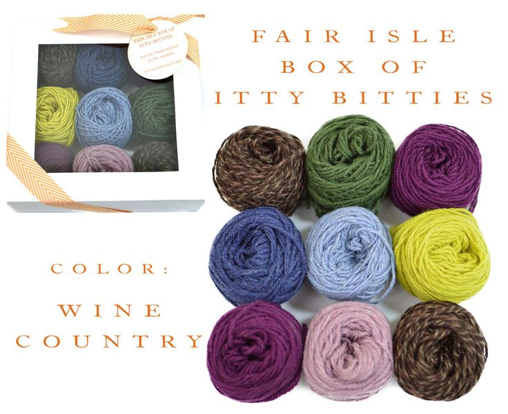1000+ images about Fair Isle Box of Itty Bitties on Pinterest ...